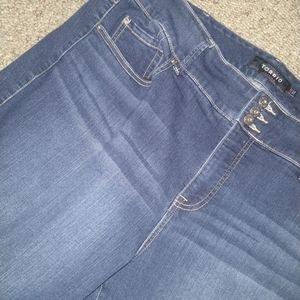 TORRID premium straight leg jeans
